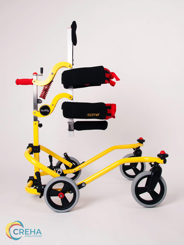 Deambulatore Bambino Disabile Buddy Roamer Laterale 01